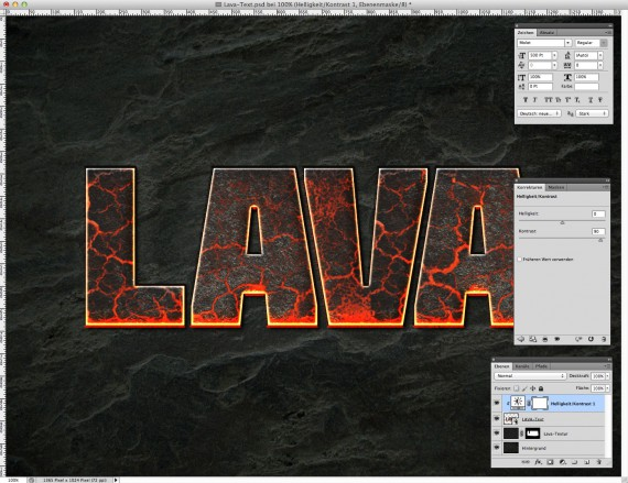 Lava Text Effect Photoshop (7)