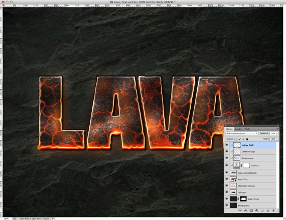 Lava Text Effect Photoshop (14)