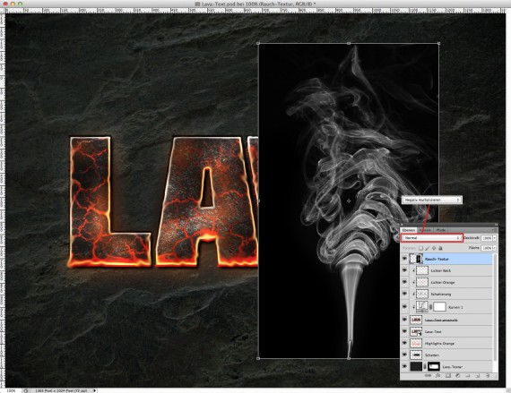 Lava Text Effect Photoshop (15a)