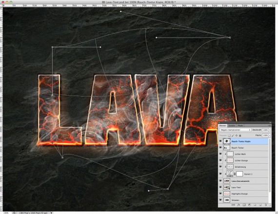 Lava Text Effect Photoshop (15b)