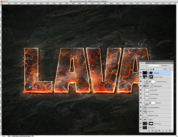 Lava Text Effect Photoshop (18)