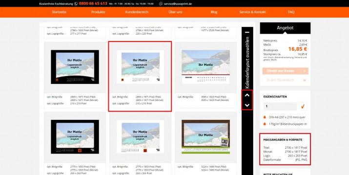 Kalender online erstellen (2)