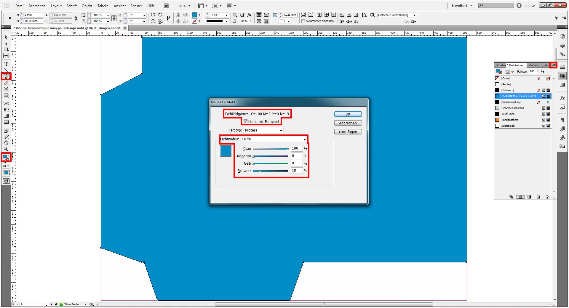 Tutorial: Nützliche Präsentationsmappe in InDesign » SAXOPRINT Blog