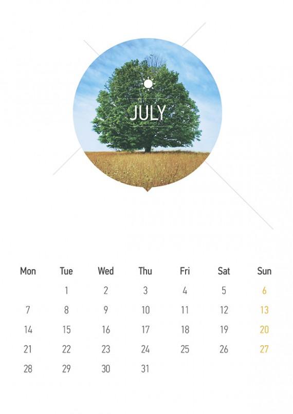 Kalender Design Inspirationen 2014 (1)