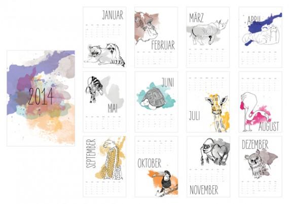 Kalender Design Inspirationen 2014 (16)