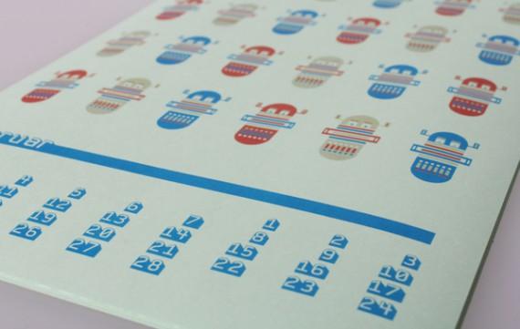 Kalender Design Inspirationen 2014 (18)