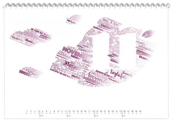 Kalender Design Inspirationen 2014 (20)