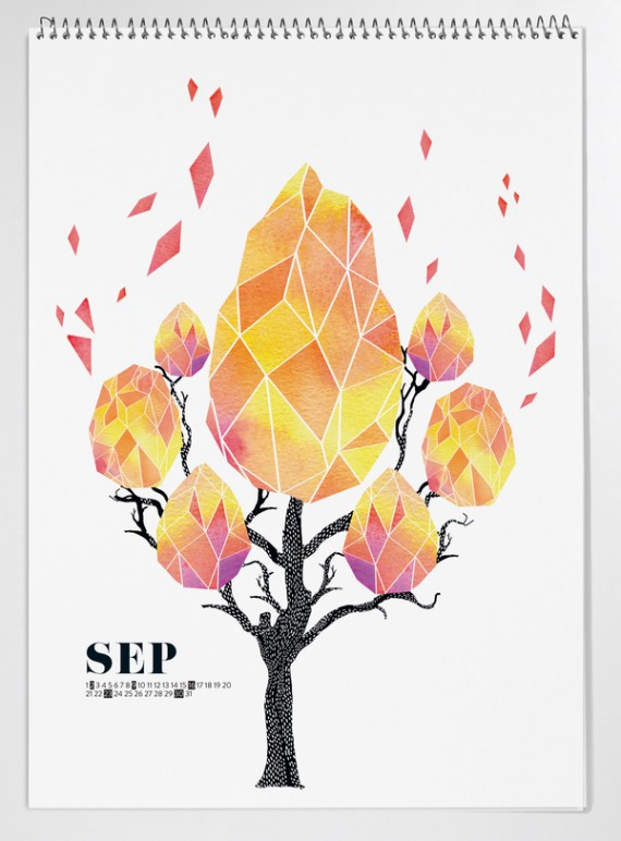 Kalender Design Inspirationen 2014 (45)