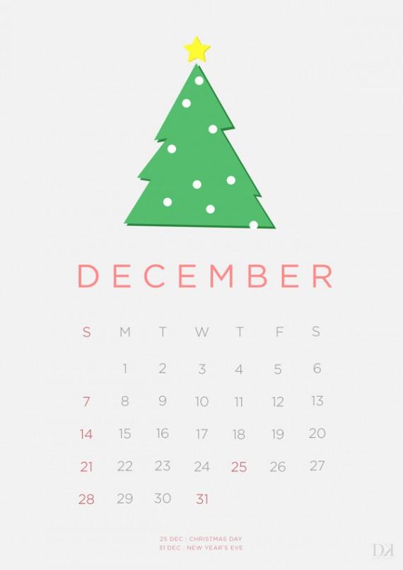 Kalender Design Inspirationen 2014 (5)