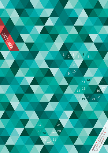 Kalender Design Inspirationen 2014 (6)