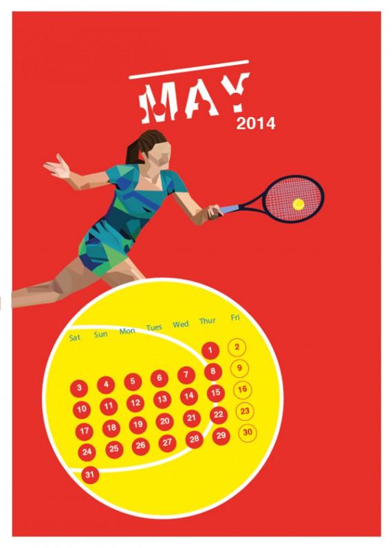 Kalender Design Inspirationen 2014 (7)