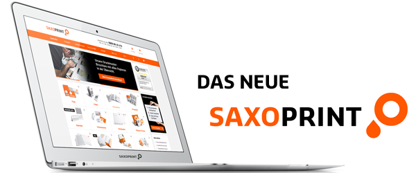 Der fulminante SAXOPRINT-Relaunch 2013