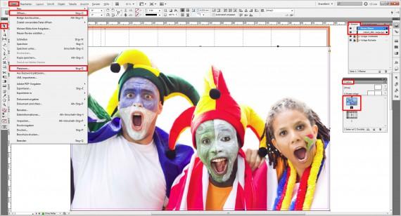 InDesign-Tutorial Fanklatsche erstellen (1)