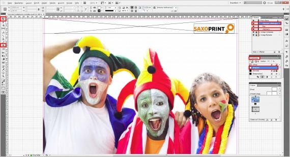 InDesign-Tutorial Fanklatsche erstellen (2)
