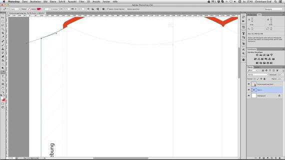 Kissenverpackung - Hintergrundfläche erstellen