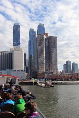 Bootstour über den Hudson River