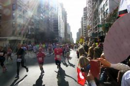 Läufer auf den Straßen von Manhattan