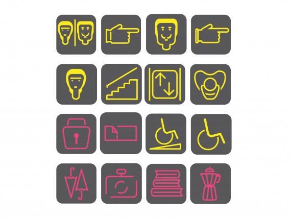 Piktogramme gestaltet von Miriam Horn