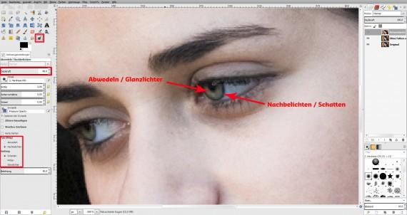 Tutorial GIMP Haut glätten (6)