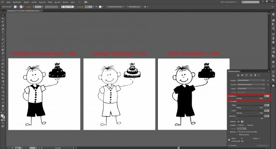 Tutorial Vektorisieren mit Illustrator (4)