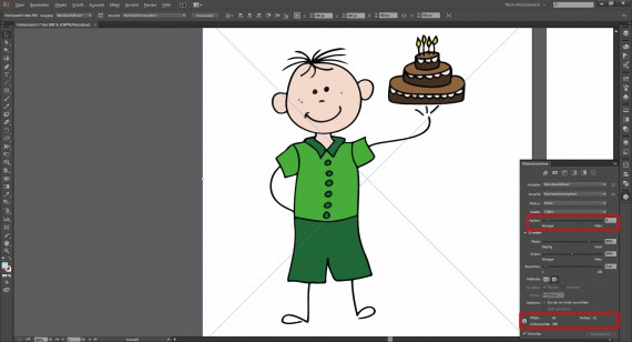 Tutorial Vektorisieren mit Illustrator (5)
