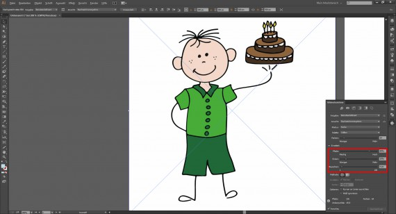 Tutorial Vektorisieren mit Illustrator (6)