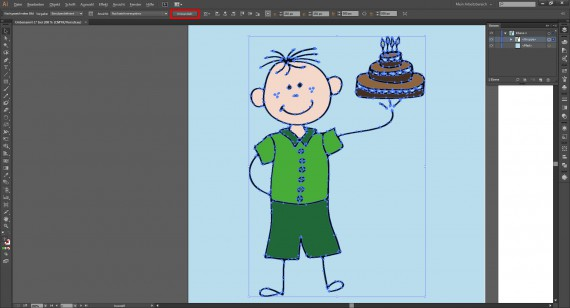 Tutorial Vektorisieren mit Illustrator (9)