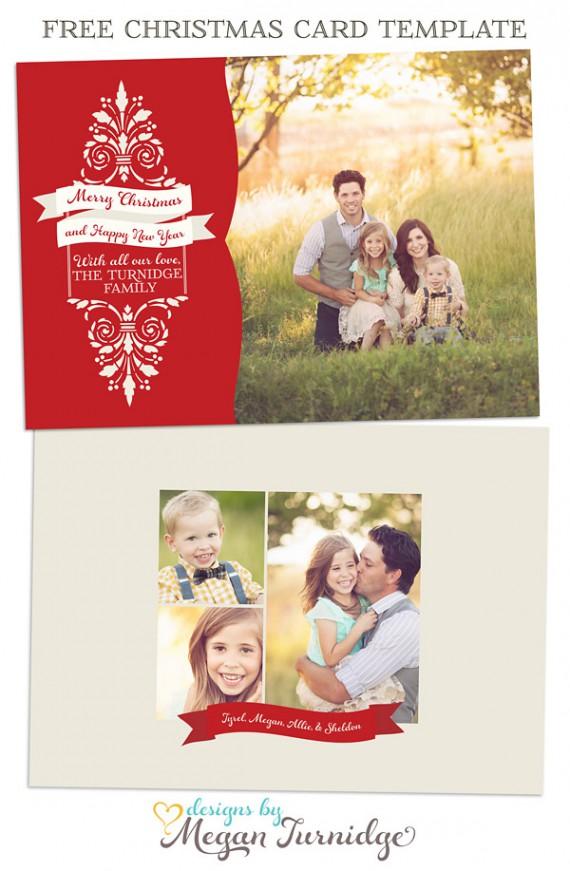 Weihnachtskarten Design Template Vorlagen (1)