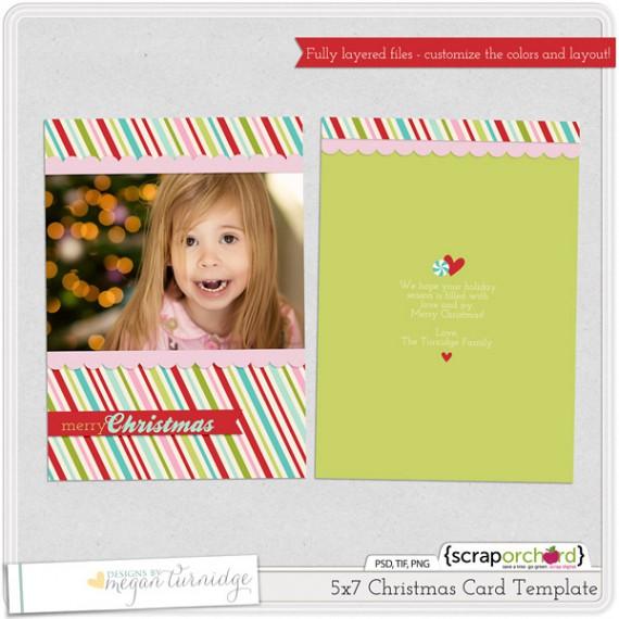 Weihnachtskarten Design Template Vorlagen (2)