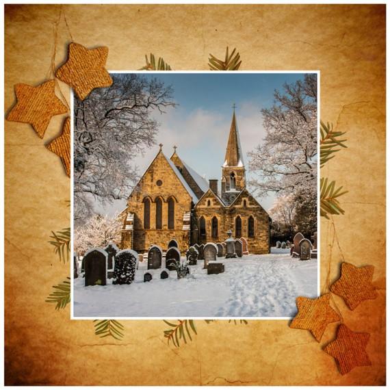 Weihnachtskarten Design Template Vorlagen (3)