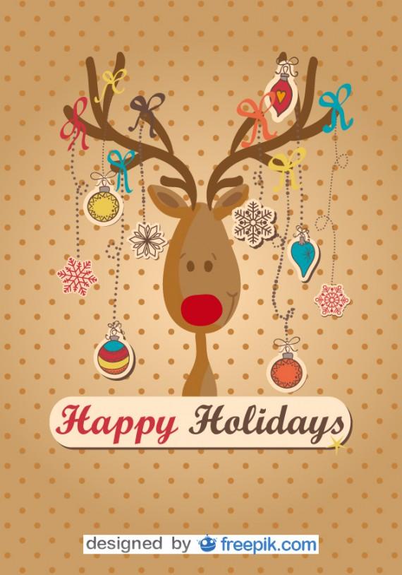 Weihnachtskarten Design Template Vorlagen (17)