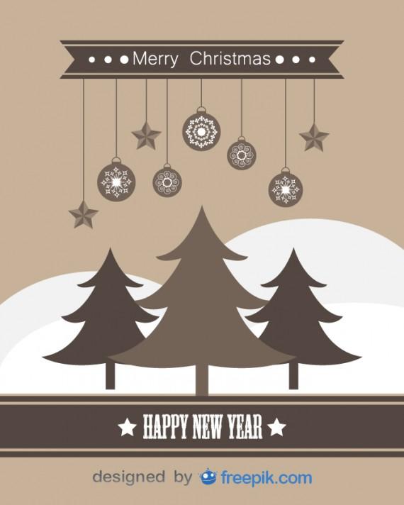 Weihnachtskarten Design Template Vorlagen (24)