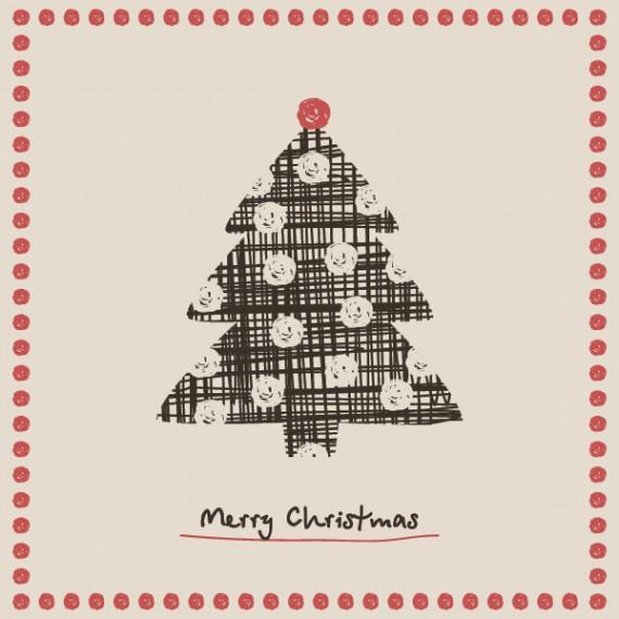 Weihnachtskarten Design Template Vorlagen (28)