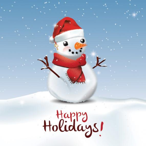 Weihnachtskarten Design Template Vorlagen (32)