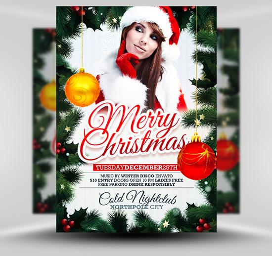 Weihnachtskarten Design Template Vorlagen (39)