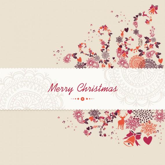 Weihnachtskarten Design Template Vorlagen (47)