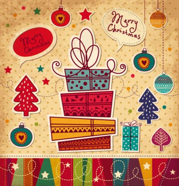 Weihnachtskarten Design Template Vorlagen (50)