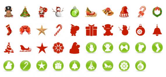 icons und grafiken f r eure weihnachts designs saxoprint. Black Bedroom Furniture Sets. Home Design Ideas