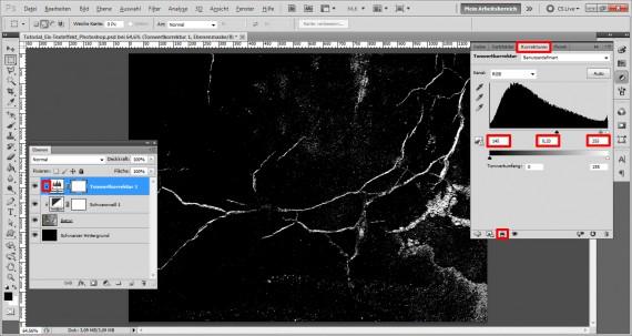 Tutorial Eis-Texteffekt Photoshop (3)