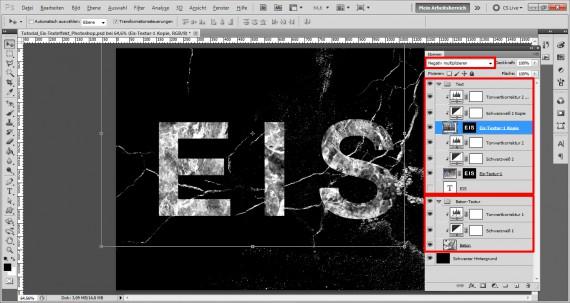 Tutorial Eis-Texteffekt Photoshop (9)