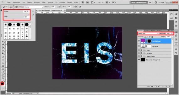 Tutorial Eis-Texteffekt Photoshop (14)
