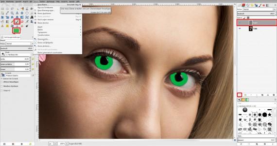 Tutorial Farbe ändern GIMP (1)