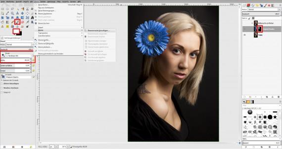 Tutorial Farbe ändern GIMP (4)