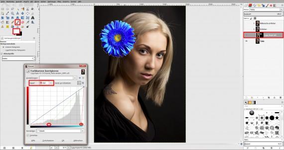 Tutorial Farbe ändern GIMP (5)
