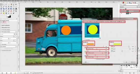 Tutorial Farbe ändern GIMP (9)