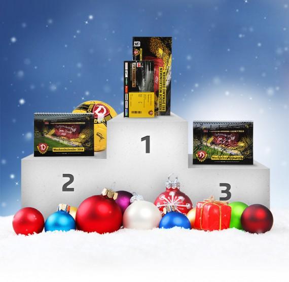 Weihnachtsverlosung - tolle Preise der SG Dynamo Dresden