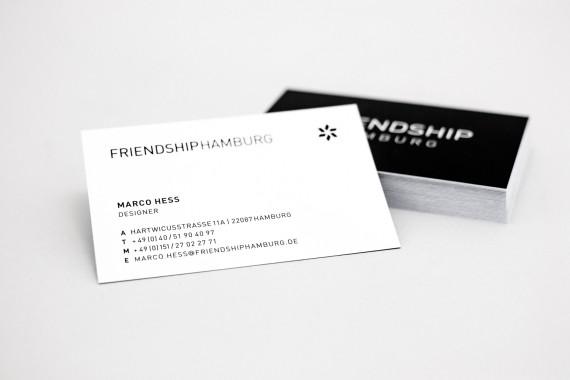 Marco Hess - Friendship Visitenkarte