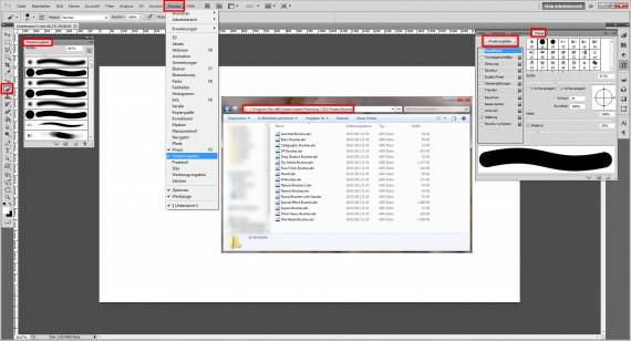 Photoshop Pinsel installieren (1)