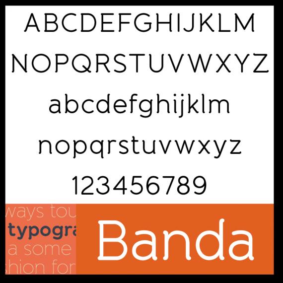 Banda Font
