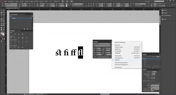 Defintion von Ligaturen in der Typografie (5)